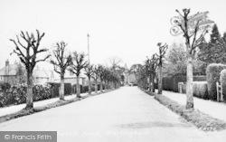 Church Road c.1955, Warlingham