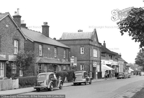 Warlingham, Limpsfield Road c1955