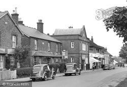 Limpsfield Road c.1955, Warlingham