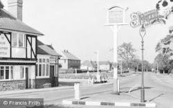 Limpsfield Road c.1960, Warlingham