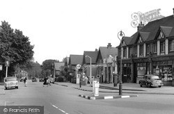 Post Office Corner c.1955, Warlingham