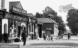 Shops On The Green 1914, Warlingham