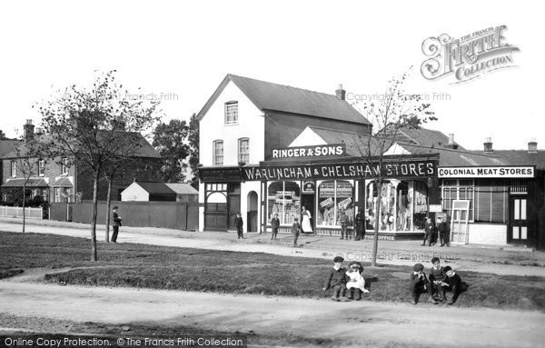 Warlingham, the Green 1907