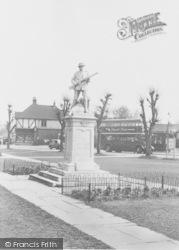The Memorial c.1955, Warlingham