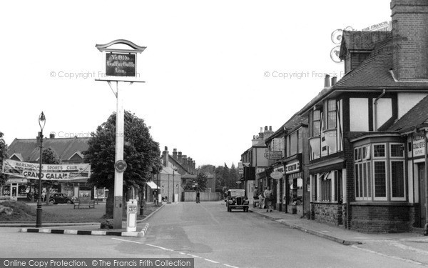 Photo of Warlingham, The Village Green c.1955