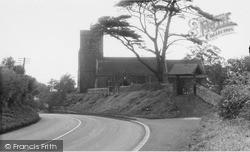 Warmington, Parish Church c.1955