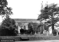 Warminster, Christ Church c.1950