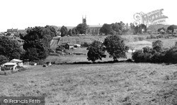 Warminster, Christ Church c.1955