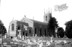Warminster, Christ Church c.1965
