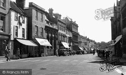 Warminster, Market Place c.1950