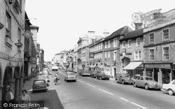 Warminster, Market Place c.1965
