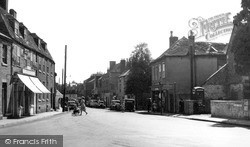 Warminster, Silver Street c.1955
