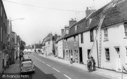 Warminster, Silver Street c.1965