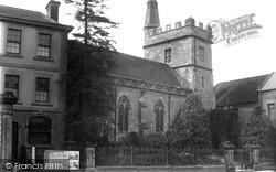 Warminster, St Lawrence Church, High Street c.1900