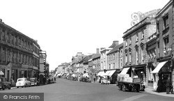 Warminster, The Market Place c.1955