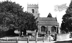 Warminster, The Minster c.1955