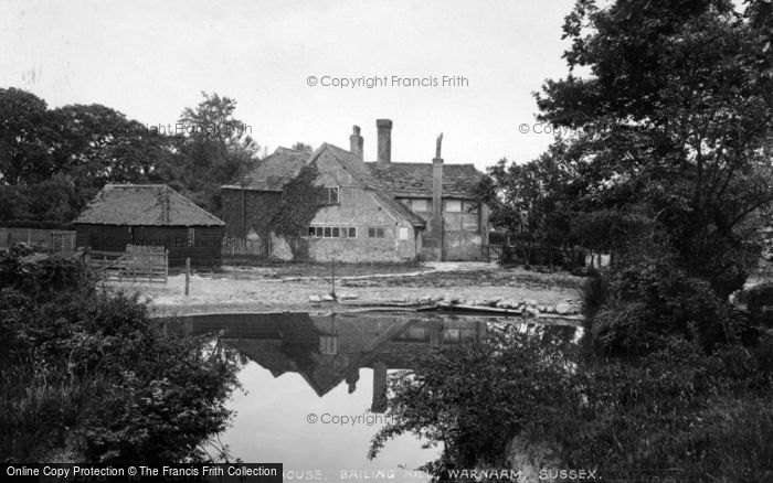 Photo of Warnham, 17th Century Farmhouse, Bailing Hill 1927