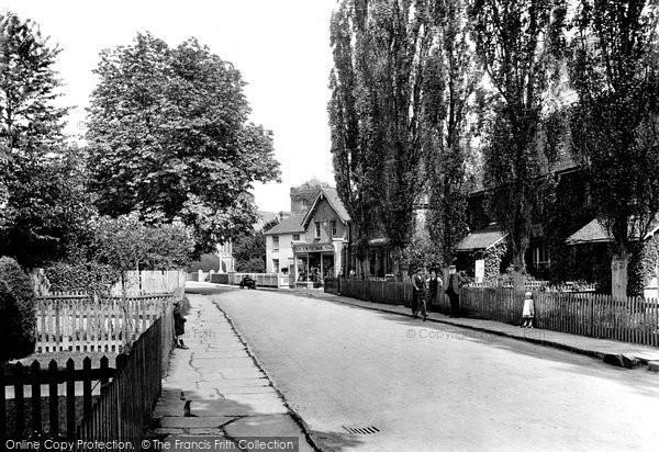 Photo of Warnham, Church Street 1921
