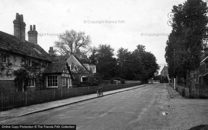 Photo of Warnham, Church Street 1935