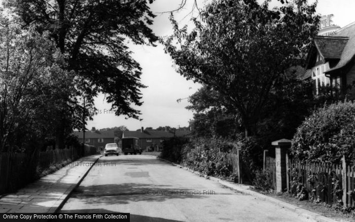 Photo of Warnham, Hollands Way c.1955