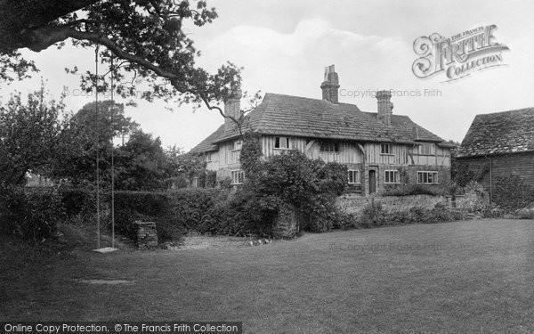 Photo of Warnham, Old Manor 1924