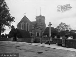 St Margaret's Church 1935, Warnham