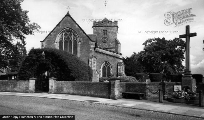 Photo of Warnham, St Margaret's Church And Memorial c.1955