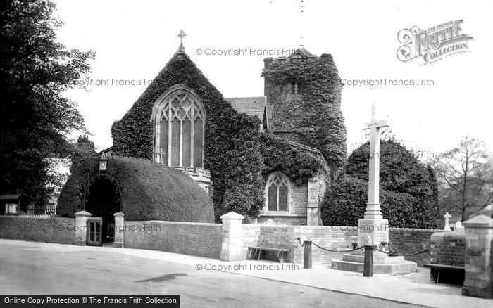 Photo of Warnham, St Margaret's Church And War Memorial 1921