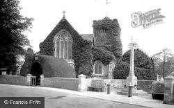 St Margaret's Church And War Memorial 1921, Warnham