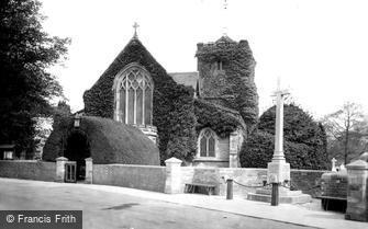 Warnham, St Margaret's Church and War Memorial 1921