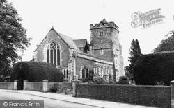 St Margaret's Church c.1960, Warnham