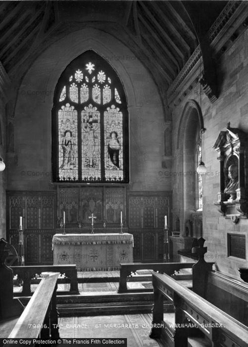 Photo of Warnham, St Margaret's Church, Chancel 1927