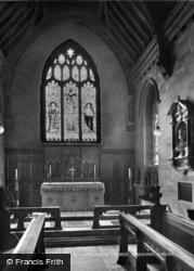 St Margaret's Church, Chancel 1927, Warnham