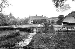 The 17th Century Farmhouse, Bailing Hill 1938, Warnham