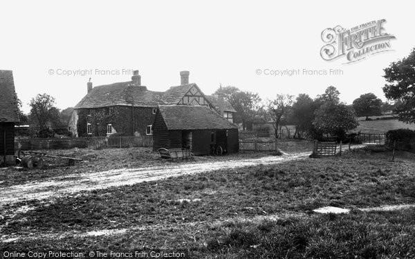Photo of Warnham, The 17th Century Farmhouse, Bailing Hill 1938
