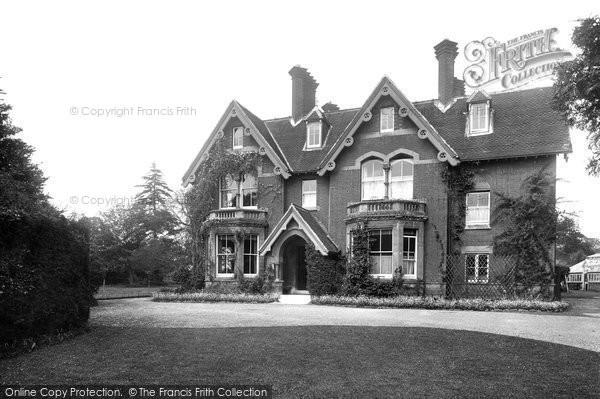 Photo of Warnham, The Vicarage 1924