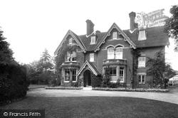 Warnham, The Vicarage 1924