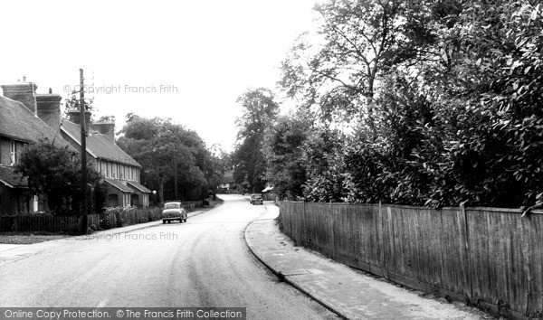 Photo of Warnham, The Village c.1960