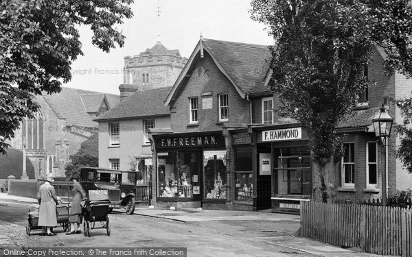 Photo of Warnham, The Village Shop 1928