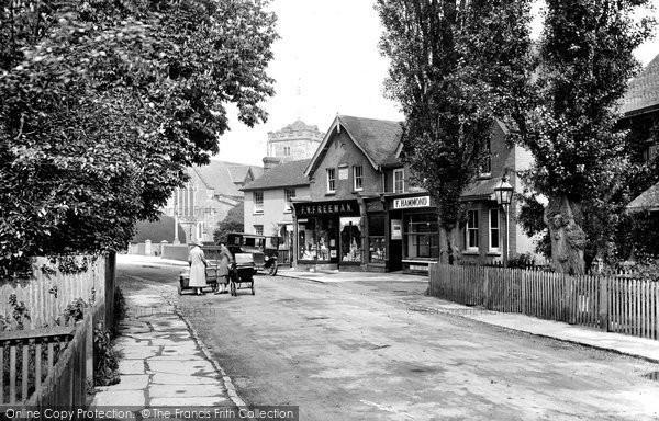Photo of Warnham, Village 1928