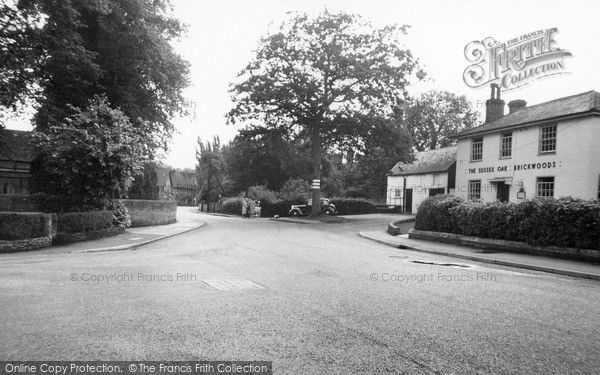 Photo of Warnham, Warnham Corner And The Sussex Oak c.1955