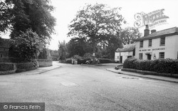 Warnham Corner And The Sussex Oak c.1955, Warnham