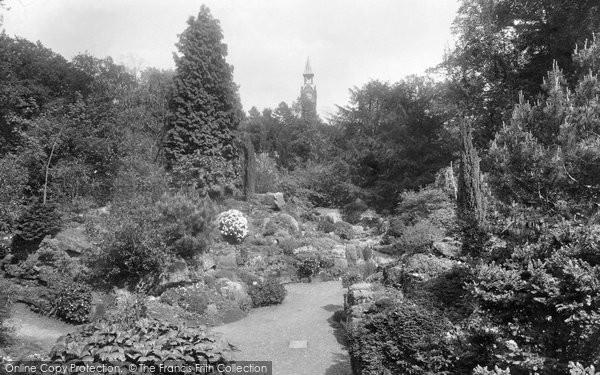 Photo of Warnham, Warnham Court Rock Gardens 1924