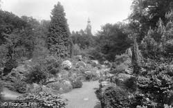 Warnham Court Rock Gardens 1924, Warnham
