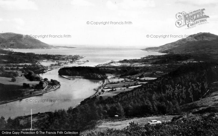 Photo of Warrenpoint, Flag Staff And Carlingford Lough c.1965