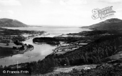 Warrenpoint, Flag Staff And Carlingford Lough c.1965