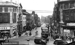 Warrington, Bridge Street 1955