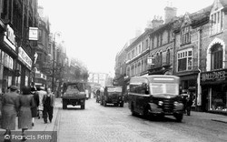 Warrington, Bridge Street c.1950