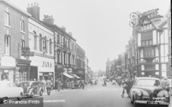Warrington, Bridge Street c.1955