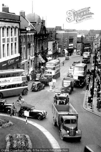 Warrington Buttermarket Street C 1950 Francis Frith